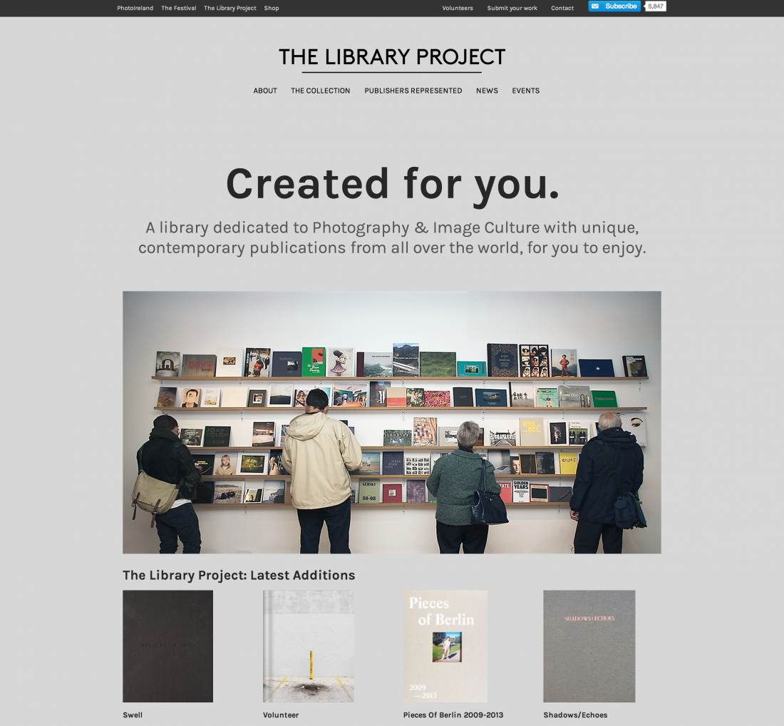 The Library Project website