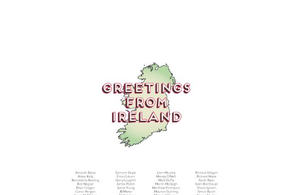 Greetings From Ireland 2015 Calendar cover.
