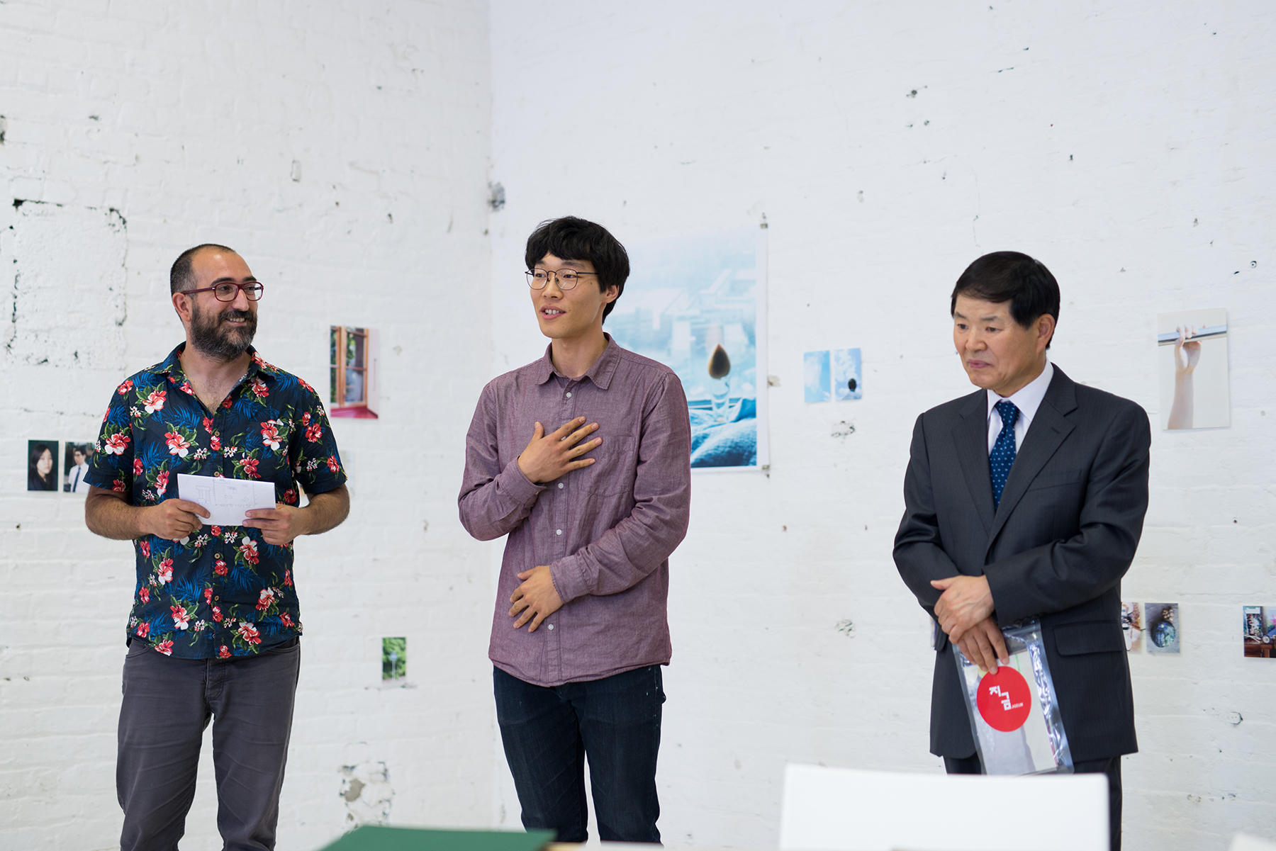 Youngdon Jung names winner of Portfolio 15 at the official opening of JIGEUM, at South Studios - presenting emerging artists from South Korea in print and photobooks