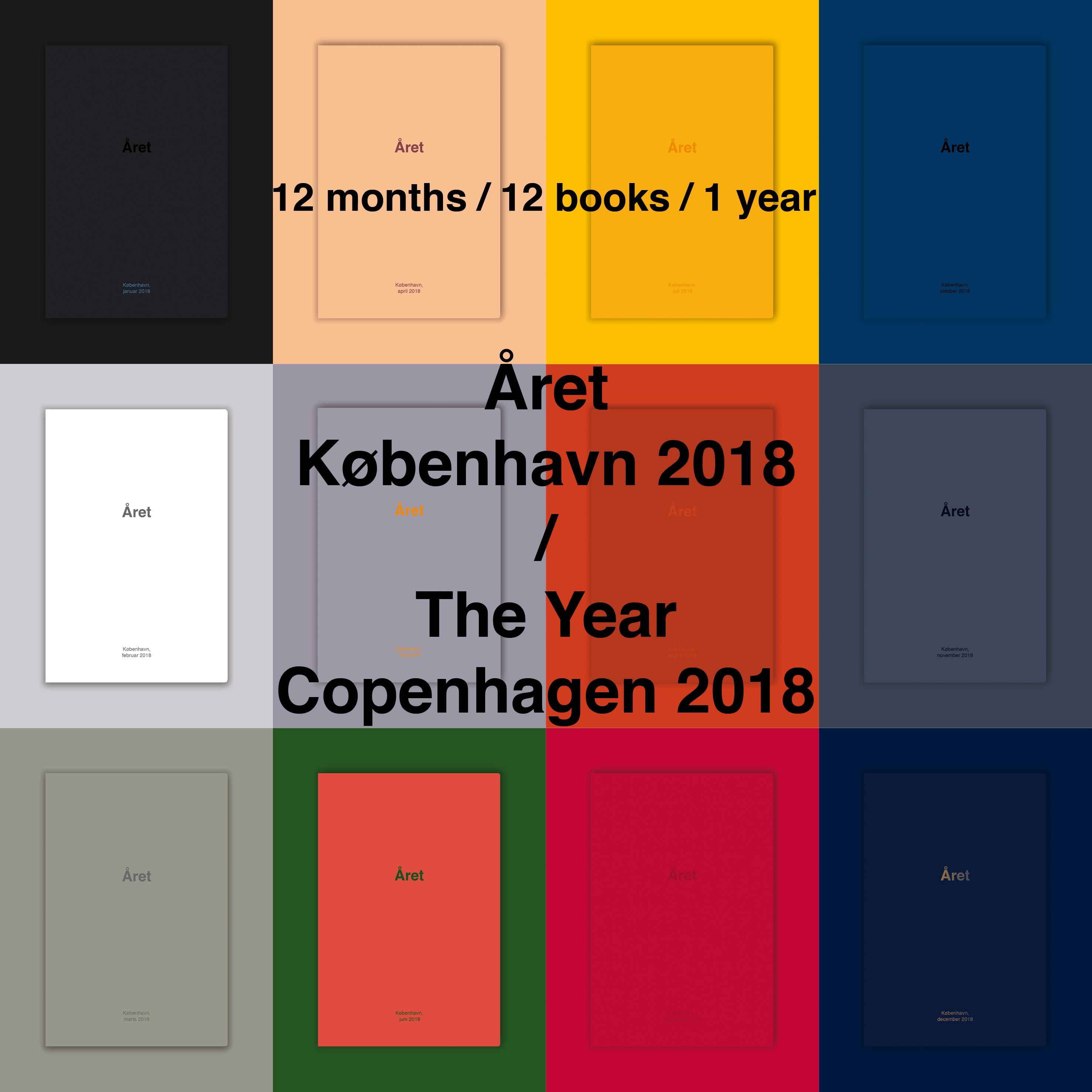 Året, København 2018 Book Launch
