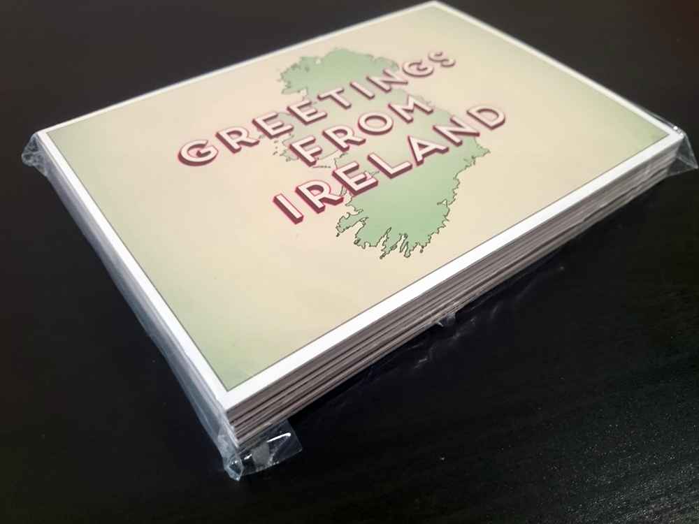 Greetings From Ireland Postcard Set