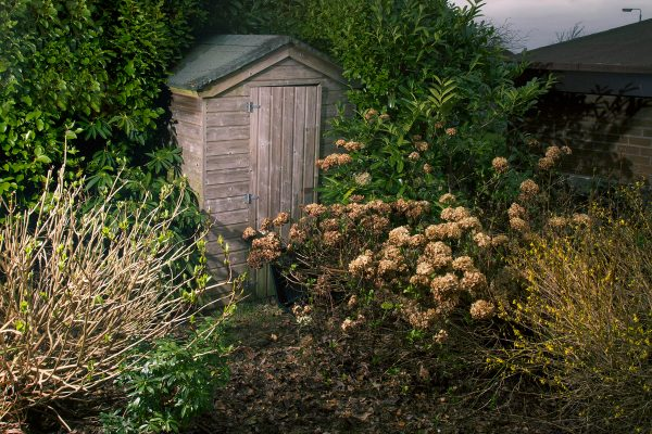 © Richard Wade, Winter Shed, from the series, Impasse, 2012. richardwadephoto.com