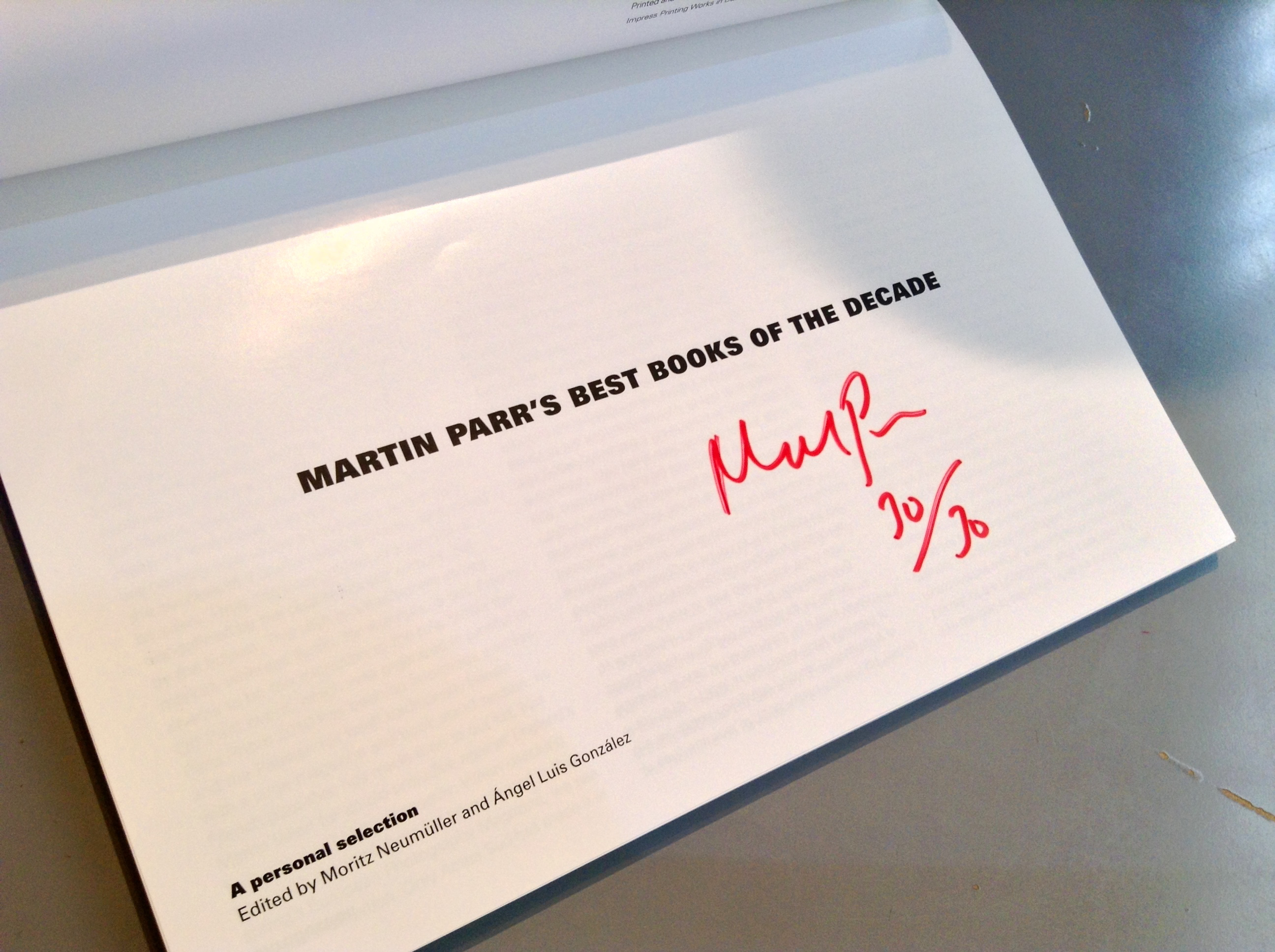 Martin Parr's Best Books of the Decade