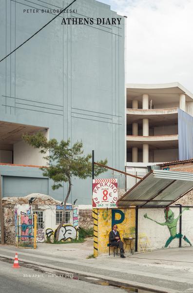 Peter Bialobrzeski, Athens Diary