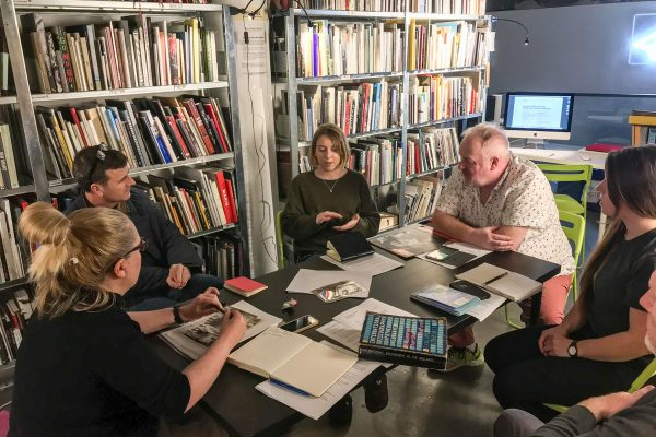 Critical Academy at The Library Project: Orla Fitzpatrick