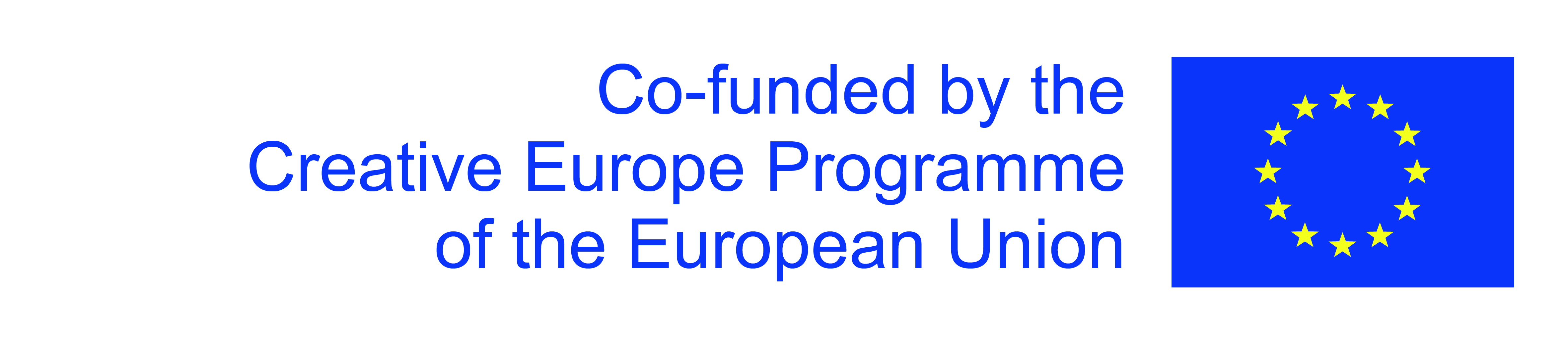 Co-funded by the EU Creative Europe Programme.