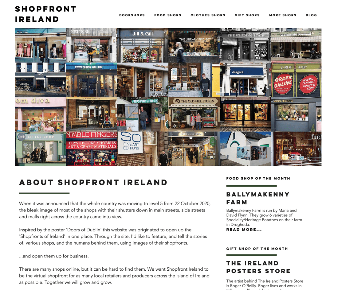 Shopfront Ireland