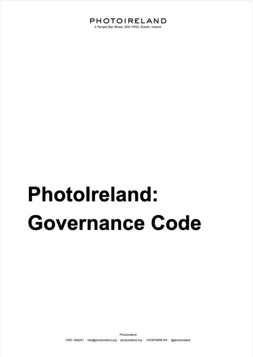 PhotoIreland Governance Code